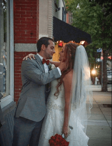 LeBer Perez Wedding at 128 South in Wilmington