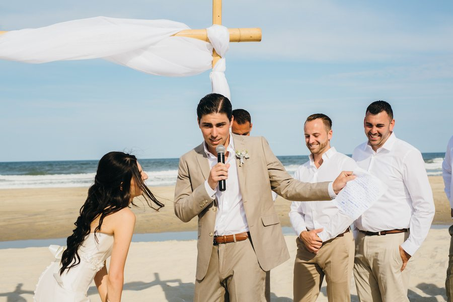 wireless microphone for outer banks beach wedding music system