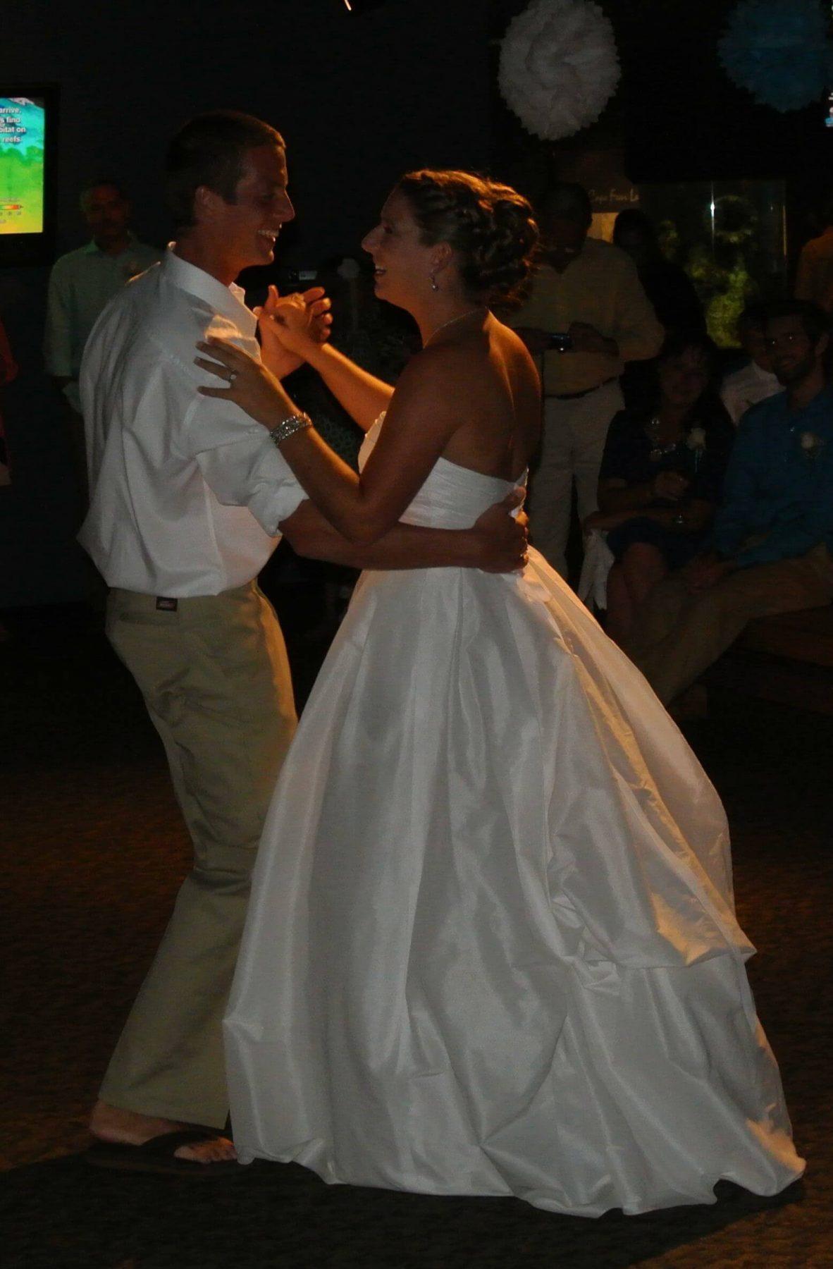 Avery Donald wedding