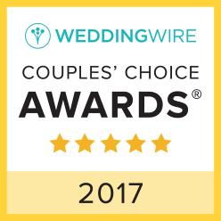 WeddingWire Couple's Choice Award 2017