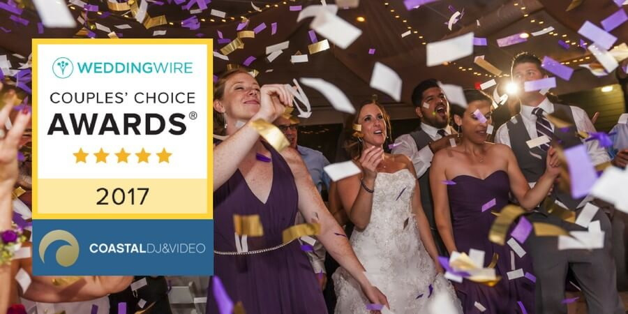 coastal dj video 2017 wedding wire awards