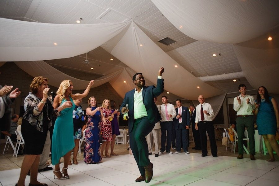 Wedding Reception playlist got the guests on the dance floor